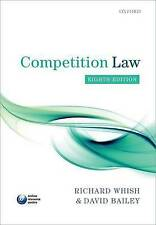 Competition Law Whish  Richard 9780199660377