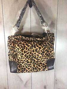 bolso guepardo con ¡Nuevo de piel Hermoso etiquetas sintética de PqSdwnva