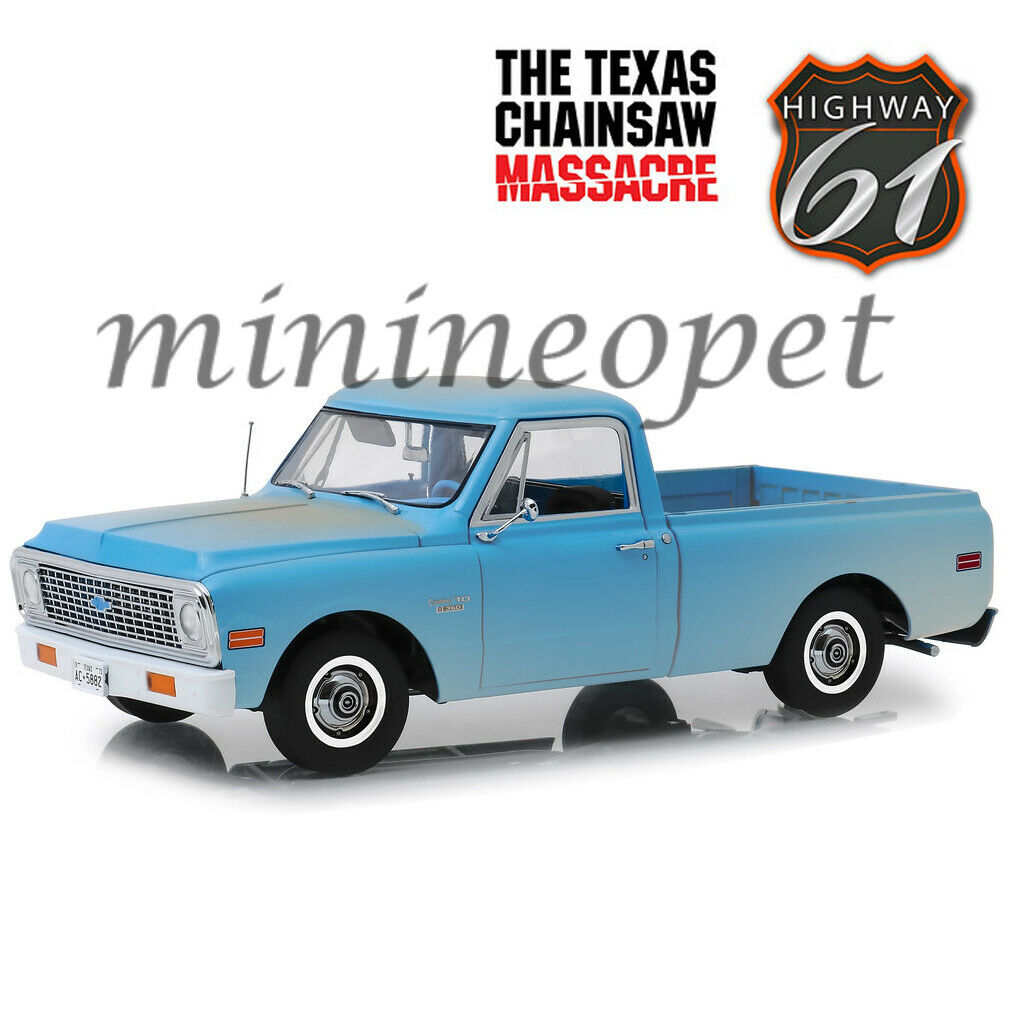 HIGHWAY 61 18014 THE TEXAS CHAINSAW MASSACRE 1971 CHEVY C-10 1 18 WEATHErot