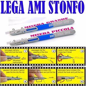 LEGA AMI MANUALE STONFO ART 448 MISURA PICCOLA PESCA