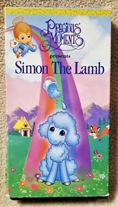 The Christmas Story Book.Details About Precious Moments Simon The Lamb A Christmas Story Golden Book Video Vhs Tape