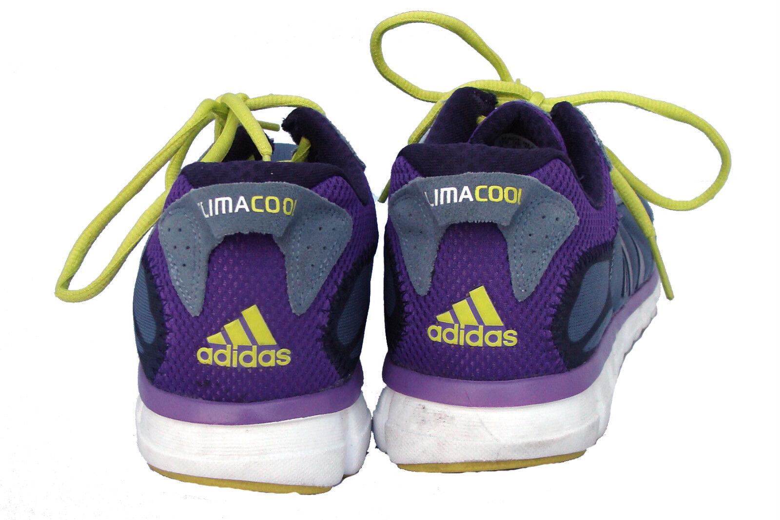 ADIDAS ClimaCool Womens Grey Purple Running Shoes Siz… - Gem