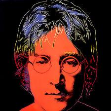 Warhol Style John Lennon Canvas 17 x 17   #3502