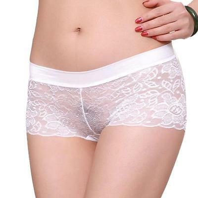 Sexy Women Lace Briefs Knickers Panties Thongs Breathable Lingerie Underwear Hot