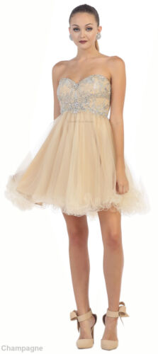 SALE NEW EMPIRE WAIST SHORT HOMECOMNG GRADUATION PROM COCKTAIL DRESS UNDER $100