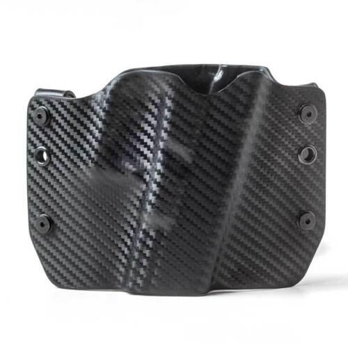 Black Carbon Fiber OWB Kydex Gun Holsters Ruger