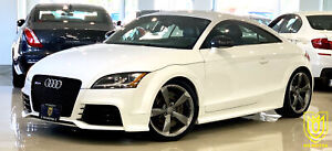 2012 Audi TT RS NAVI|NO ACCIDENT|6SPD|360HP|LOCAL CAR|CERTIFIED
