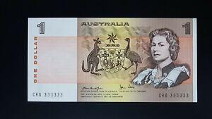 Rare-Serial-number-5-Australia-note-Unc