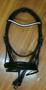 GFS Rolled Bridle With All Clear Wave Brow Band