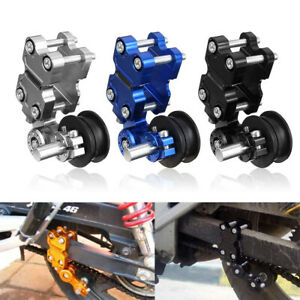 Universal-Aluminum-Adjuster-Chain-Tensioner-Roller-For-Motorcycle-Chopper-ATV
