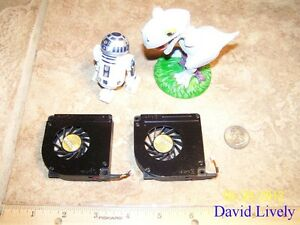 LOT-OF-2-DELL-H5195-LATITUDE-D610-LAPTOP-FANS-BLADES-CLEANED-DQ5D555C615