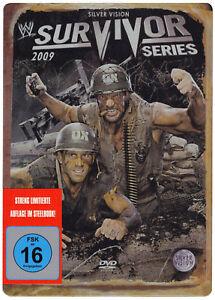 WWE-Survivor-Series-2009-STEELBOOK-DVD-DEUTSCHE-VERKAUFSVERSION-NEU