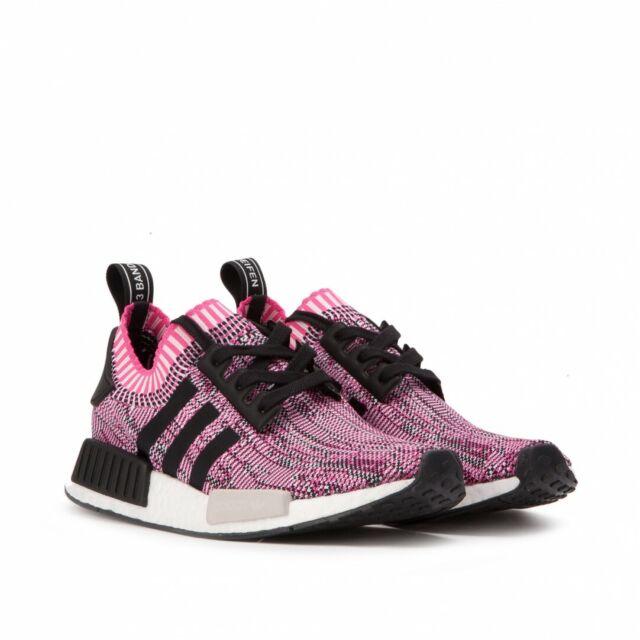 Damen Adidas NMD r1 Primeknit Rose Pink Turnschuhe bb2363