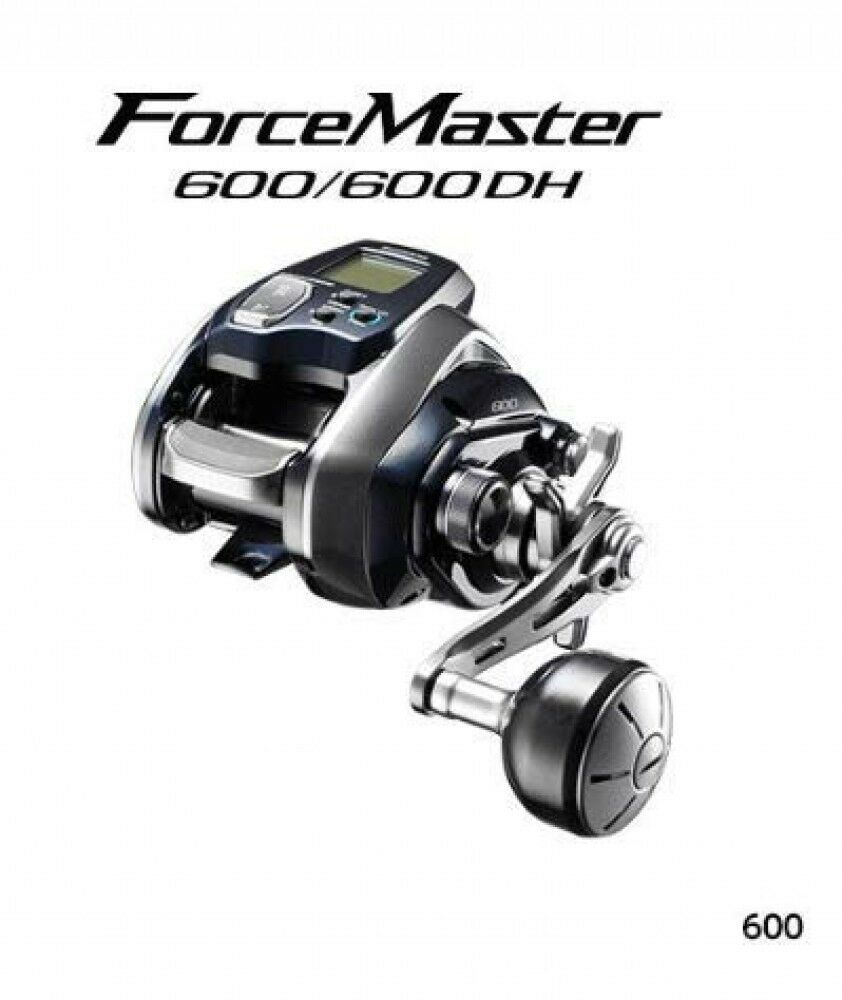 2018 NEW Shimano reel electric reel 18 force master600 from japan