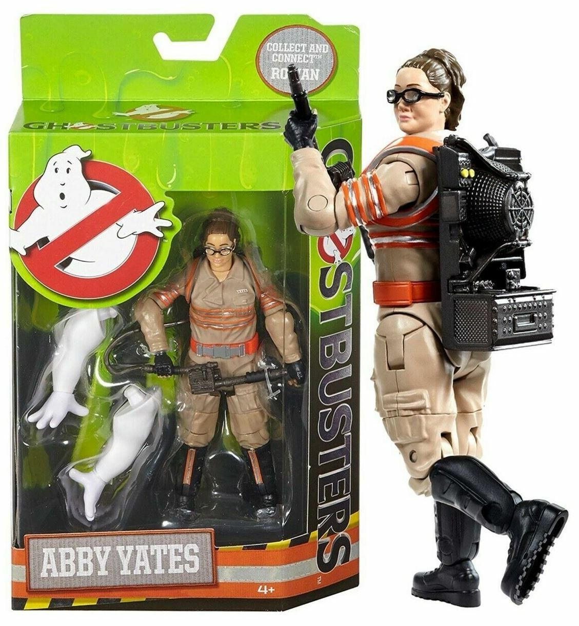 Ghostbusters Wirkung Figure Abby Yates Mattel