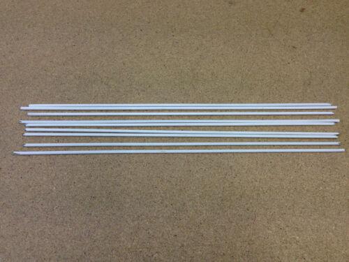 2.4 Mm /& 3.2 mm Flux Coated Brasage Rods usage général x 6