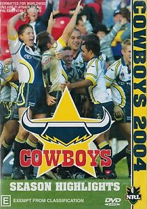 NRL-North-Queensland-Cowboys-Season-Highlights-2004-27-matches-NEW-DVD