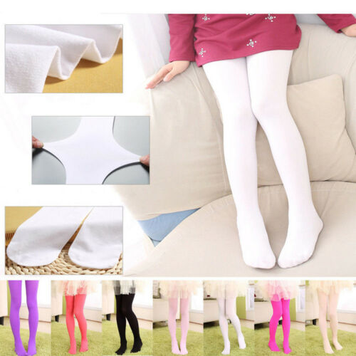 Student Children Kids Girl Dance Socks Ballet Tights Baby Pantyhose Candy Color
