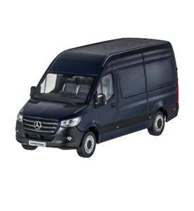 Mercedes Benz W 907 910 Sprinter Van  Van 2018 Canvas bluee 1 43 New OVP