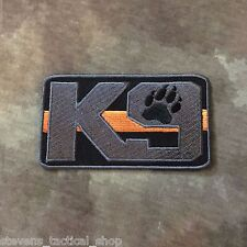 The Thin Orange Line K9 Patch, Search & Rescue SAR
