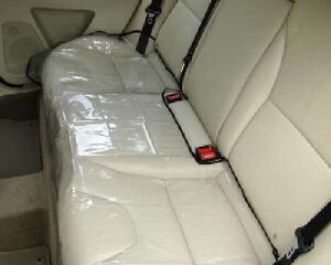 Schutz Schutzfolie Autositz Rückbank Rücksitz Kindersitz Schonbezug Auto - NEU