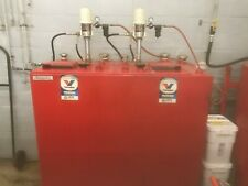 Graco Bulk Oil Fluid Dispensing System 2 Double Wall Tanks 2 Hose Reels And Guns