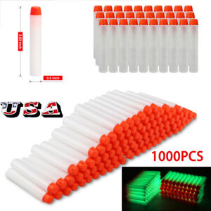 1000pcs-toy-Gun-Glow-Refill-Foam-Bullet-Darts-For-Elite-Series-7-2CM-US