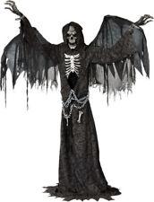 Angel of Death Animated Halloween Prop Haunted House Animatronic Life Size Decor  sc 1 st  eBay & 6 Feet Plastic Grey Black Chain Links Costume Accessory Props ...