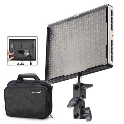 AU Aputure Amaran AL-528C 528 Led Video Light Panel Studio Lighting Kit + Bag