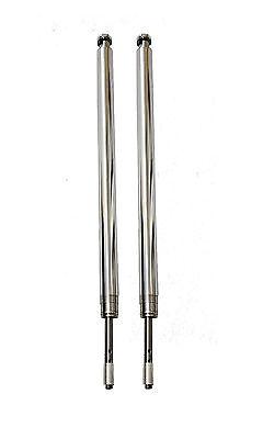 """Harley 41mm Fork Tubes kit 22-7/8"""" hard chrome FLST 1986-99 09292"""