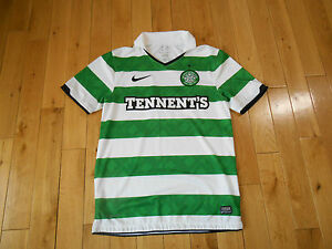 outlet store 2436e c187a Details about Authentic NIKE CELTIC FOOTBALL CLUB Soccer Jersey Kit Mens SM  Tennent's Futbol