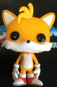Funko Pop Games Sonic The Hedgehog 07 Tails Vaulted Vinyl No Box Ebay
