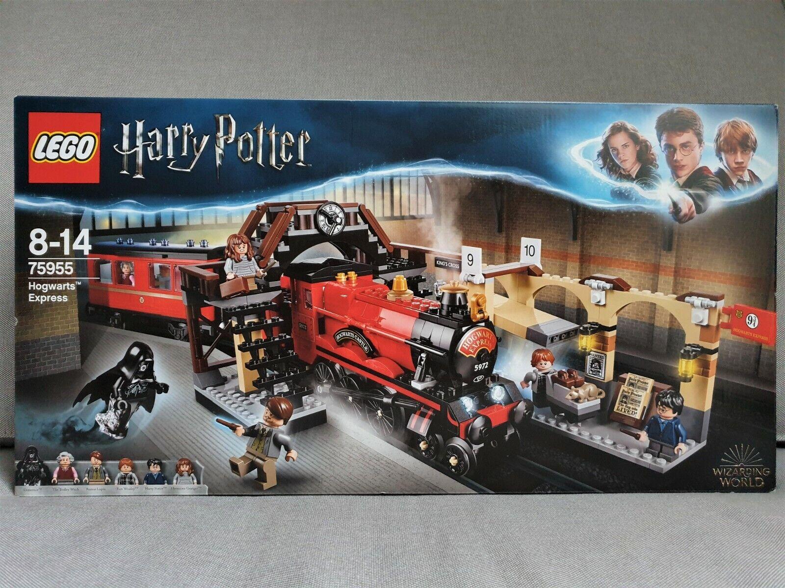 LEGO Harry Potter - 75955  Hogwarts Express - NEU & OVP ungeöffnet - 6 Figuren