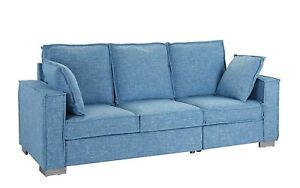 Linen Fabric Sofa Living Room Couch