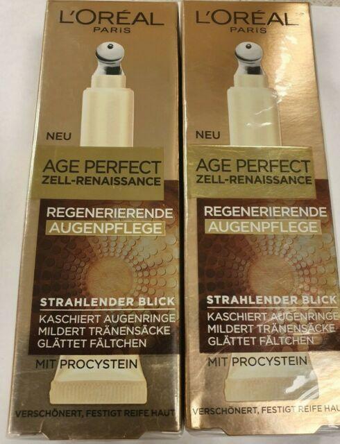 L'Oréal Paris Age Perfect Cella Rinascimento Cura Degli Occhi 2 X 15ml