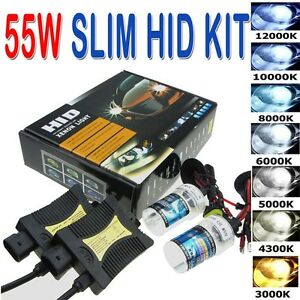 Kit 55W H7 6000K SLIM HID Xenon Ballast Conversion Bulbs Xenon Ampoule Light
