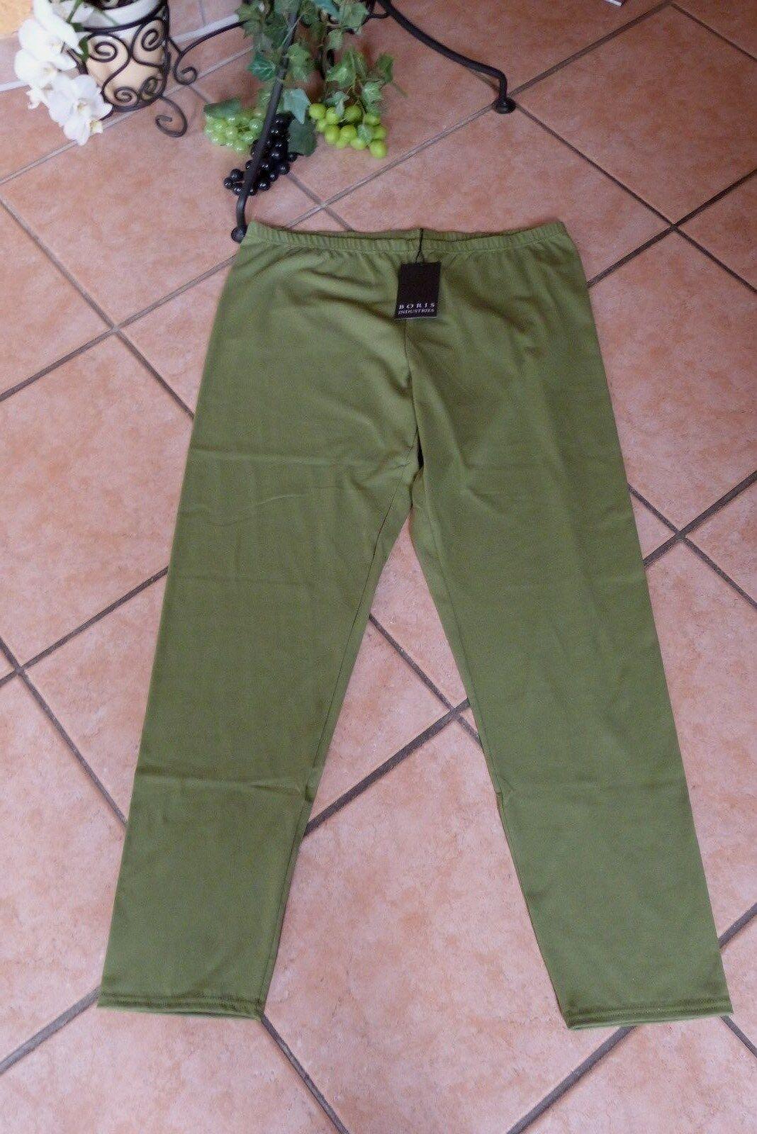 BORIS INDUSTRIES Leggings 44 46 (3) NEU green Stretch Baumwolle LAGENLOOK
