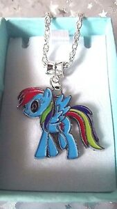My Little Pony Rainbow Dash, Taille 3,4,5,6,7,8,9, Ans, Coffret Cadeau Chaîne Lien-afficher Le Titre D'origine