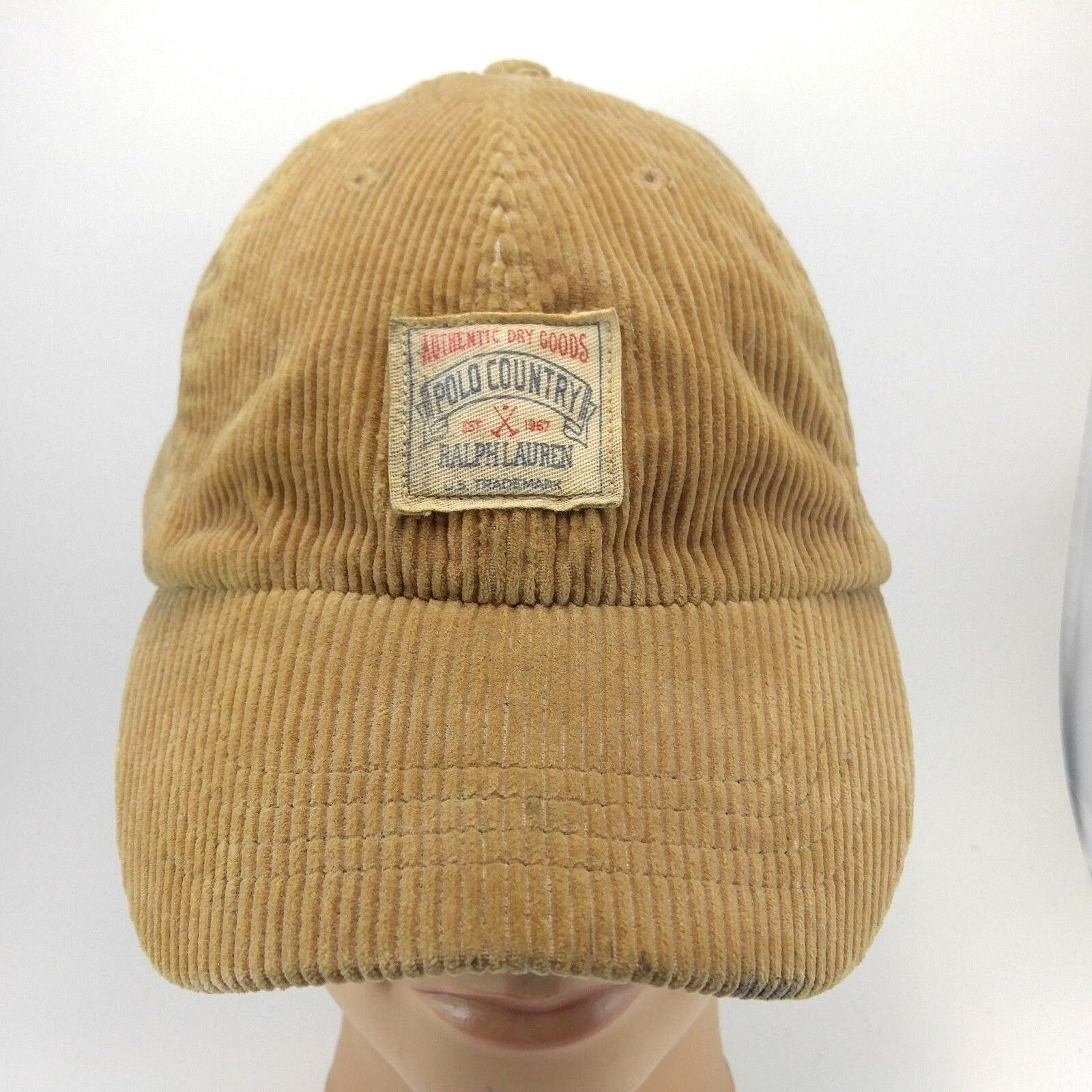 Vtg Country Rare Polo Ralph Lauren Country Vtg Hat Polo   Co Suppliers 1934  Expedition 9fe98c ba0309b12dbf
