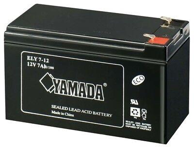 Batteria 12v 7a Piombo Gel Agm Allarmi Ups Elettronica 7,2ah Antifuti 7ah Bici Alta Qualità E Poco Costoso