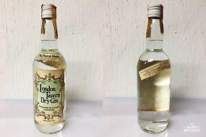 London-Tavern-Dry-Gin-J-S-Smith-Druce-amp-Co-75cl-43-Rarissimo-Vintage