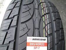 2 New 285/40R22 Nankang SP-7 Tires 2854022 285 40 22 R22 40R