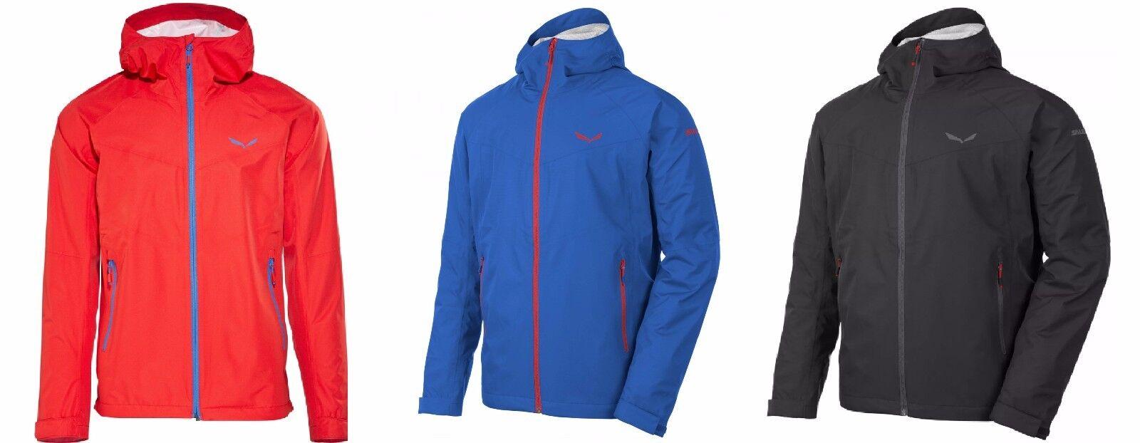 Salewa puez (Aqua 3) power-Tex chaqueta señores senderismo impermeable fácilmente