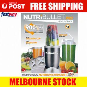 Nutribullet Pro 900W Juicer Mixer Blender Extractor 15 Pieces Set Nutri Bullet