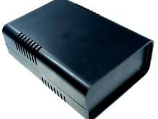 Halbschalen Gehäuse Euro-Box groß schwarz 205x180x70 mm