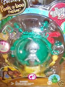 Barbie Peek A Boo Petites The Wizard Of Oz Tin Man Mini Doll 84 New