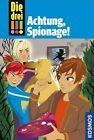 Die drei !!! 40. Achtung, Spionage! (drei Ausrufezeichen) von Henriette Wich (2013, Gebundene Ausgabe)