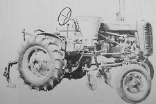 Cole Farmall Tractor Planter Fertilizing Units Manual Side Dresser Super A Cub