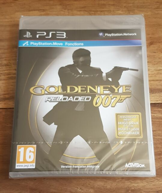 JAMES BOND GOLDENEYE 007 RELOADED Jeu Sony PS3 Playstation 3 Neuf Blister VF
