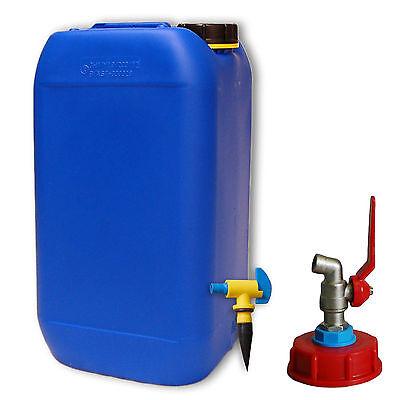 Wasserkanister 5L Kanister Trinkwasserkanister mit Hahn Camping 8 E Versand